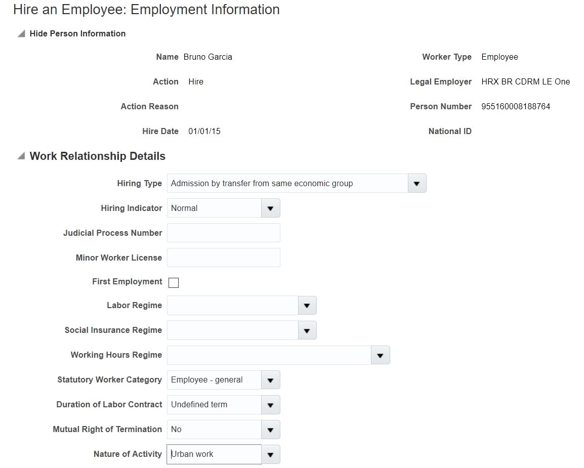Oracle Global Human Resources Cloud R13 Updates 18a 18c
