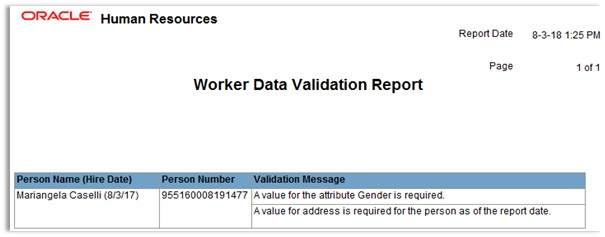 Oracle Global Human Resources Cloud R13 (updates 18A - 18C)