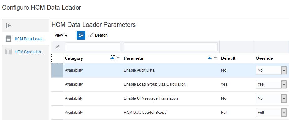 Oracle HCM Cloud Common R13 (updates 18A - 18C)
