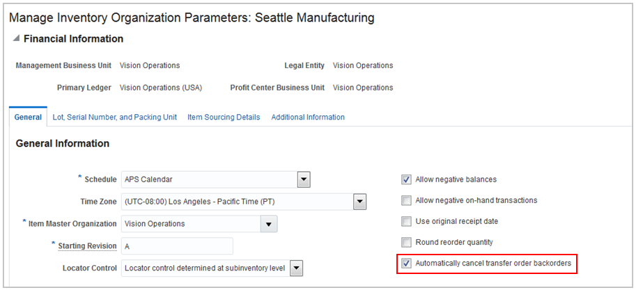 Oracle Inventory and Cost Management Cloud R13 (updates 17B