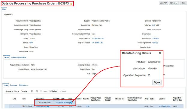 Oracle Manufacturing Cloud R13 (updates 17B - 17D)