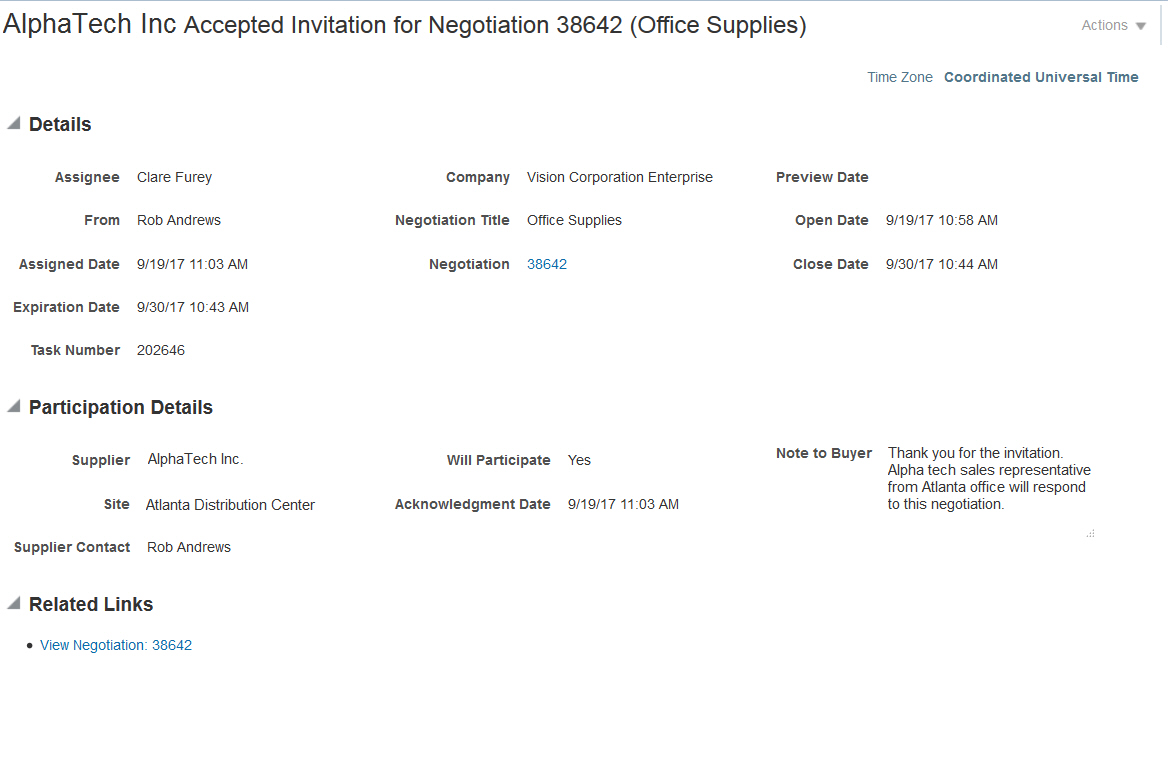 Oracle procurement cloud r13 updates 17b 17d you can stop these notifications to category managers at any time by deselecting the negotiation participation acknowledged check box in the manage sourcing stopboris Images