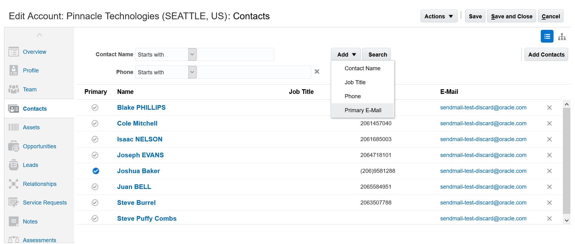 Oracle Sales Cloud R13 (updates 17B - 17D)