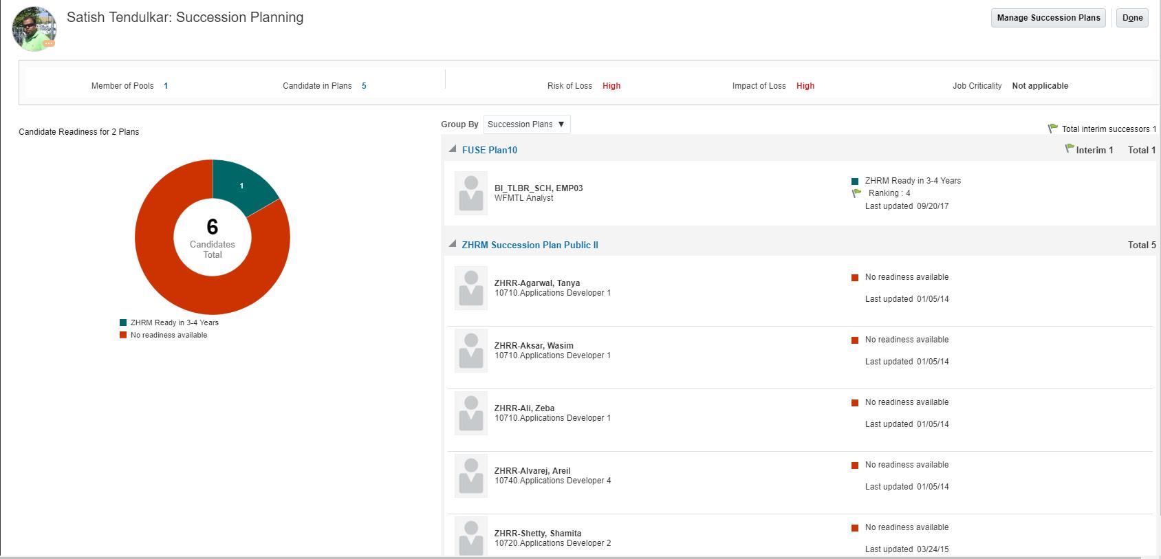 Oracle Talent Management Cloud R13 (updates 18A - 18C)