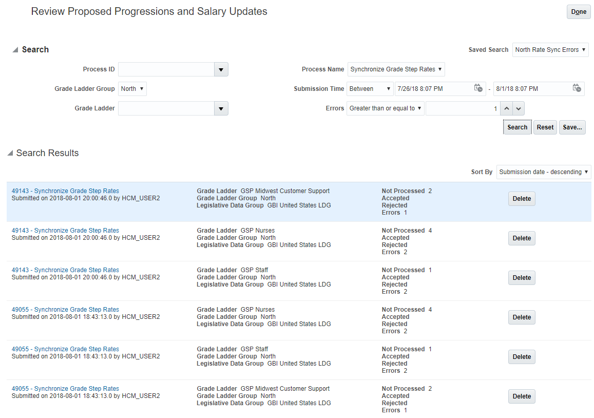 Oracle Workforce Rewards Cloud R13 (updates 18A - 18C)