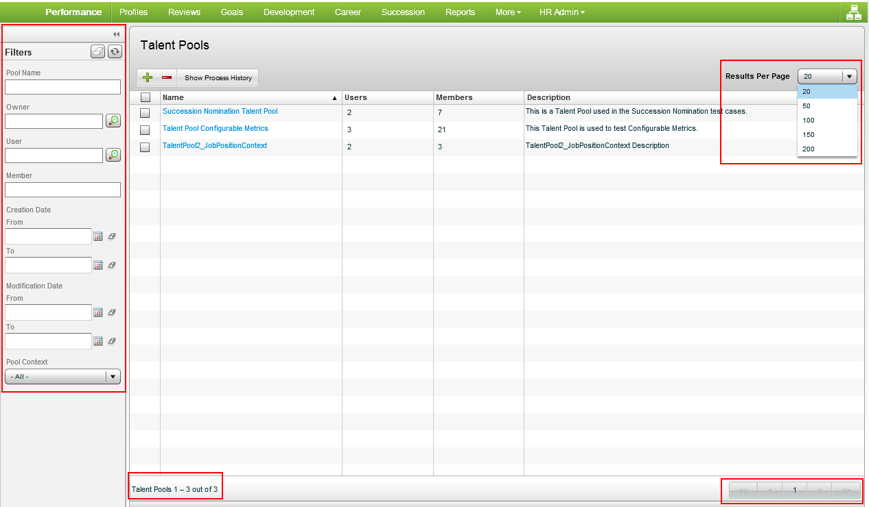 taleo performance related keywords suggestions taleo oracle taleo performance management cloud release 15b what s new