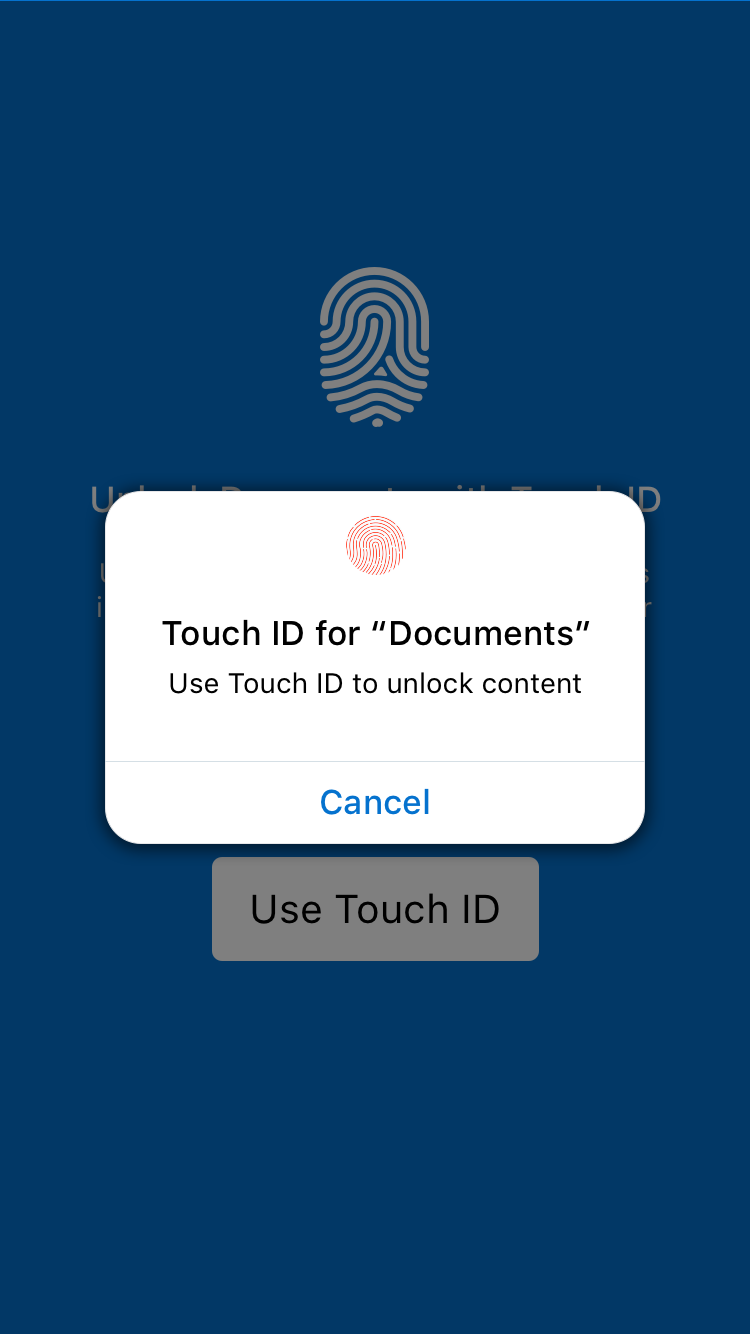 Biometric Prompt Android Example